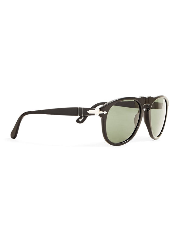 Persol - Crystal Lens Sunglasses PO0649 Black