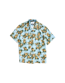 Portuguese Flannel - Ananas Short Sleeve Shirt Blue