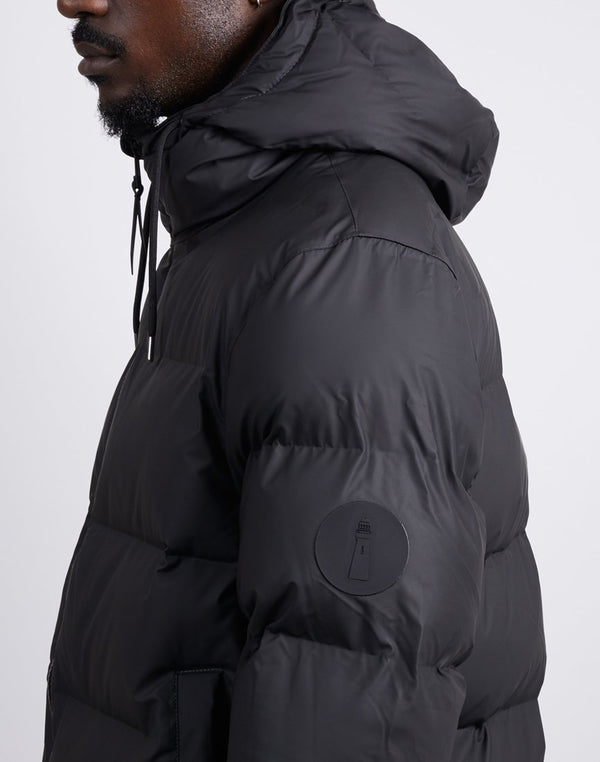 Rains - Puffer Jacket Black