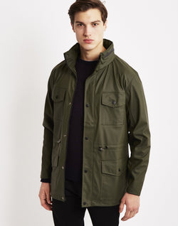 Rains - Four Pocket Jacket Green