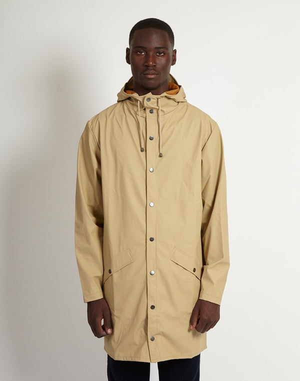 Rains - Long Jacket Desert