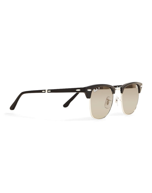 Ray Ban - Folding Polarized Clubmaster Sunglasses Classic RB2176