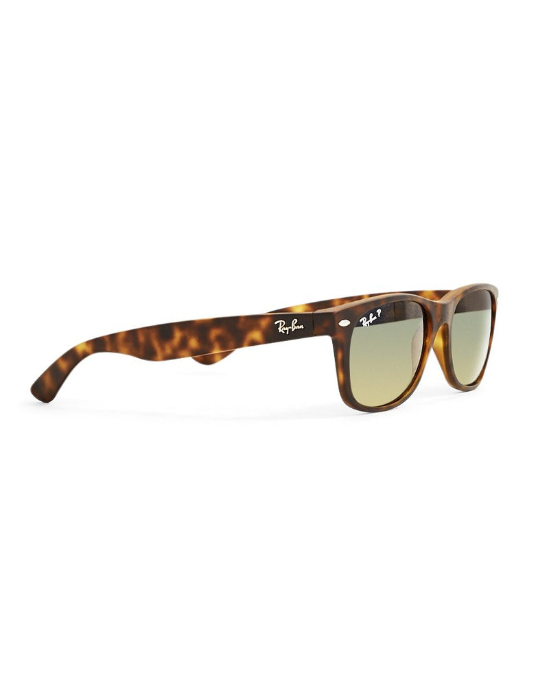 Ray Ban - Polarized Wayfarer Sunglasses Large RB2132 Tortoise Shell