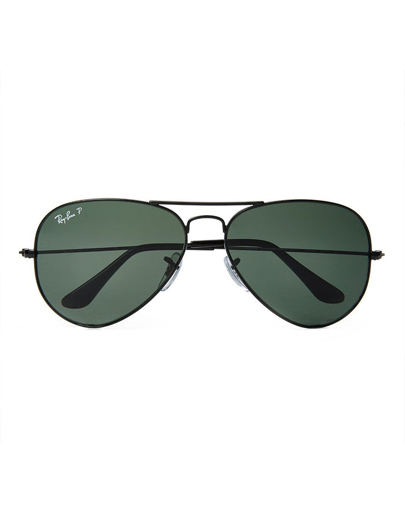 Ray Ban - Polarised Aviator Sunglasses Large RB3025 002/58