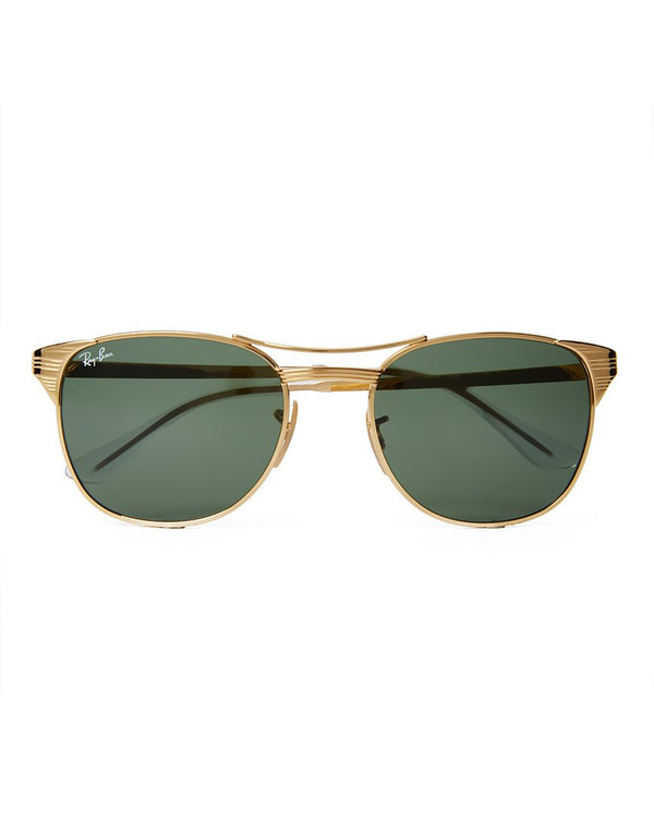 Ray Ban - Signet Sunglasses Large RB3429 001 Gold