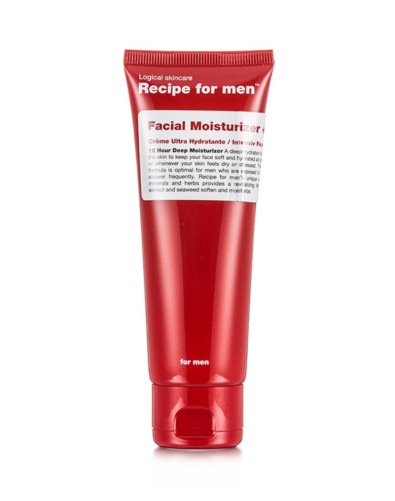 Recipe For Men - Facial Moisturiser+ 75ml