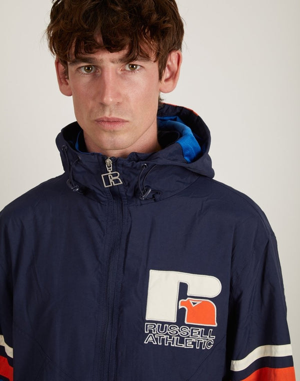 Russell Athletic - Donovan Bench Jacket Navy