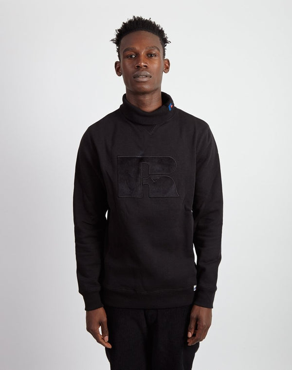 Russell Athletic - Douglas Roll Neck Sweatshirt Black