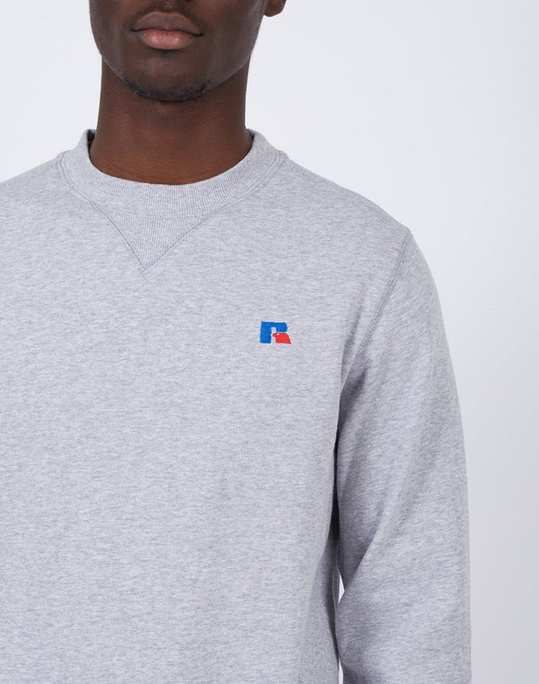 Russell Athletic - Frank Crew Neck Sweatshirt Grey