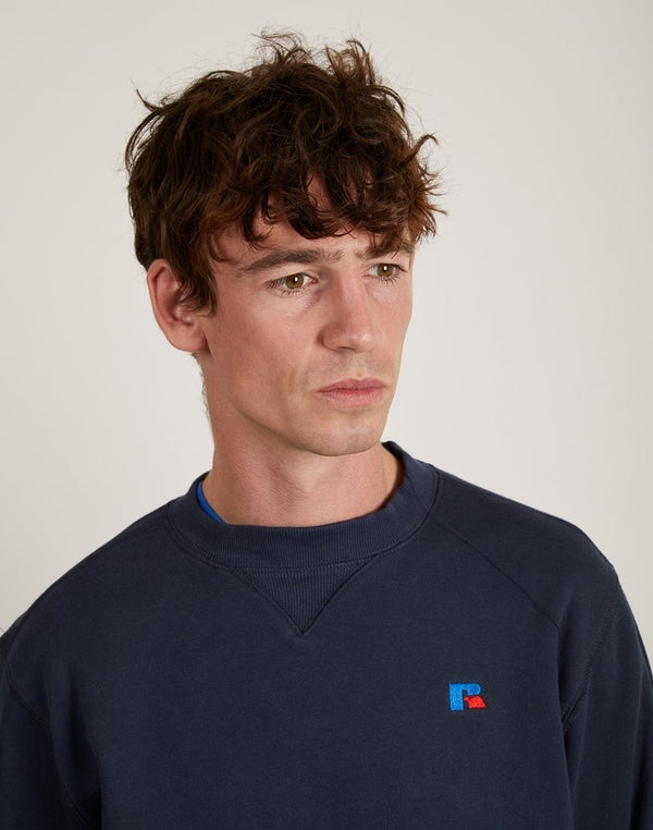 Russell Athletic - Frank Crew Neck Sweatshirt Navy