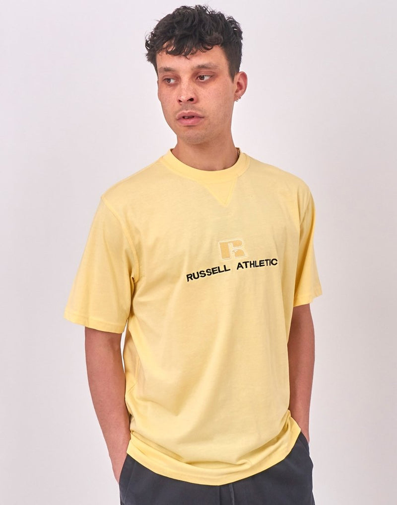 Russell Athletic - Beacons Crew Neck Tee Yellow