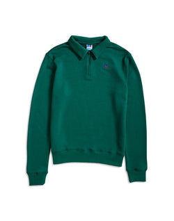 Russell Athletic - Comets Half Zip Sweater Green