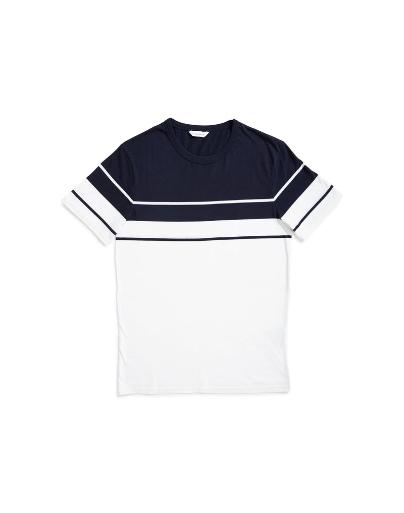 Samsoe & Samsoe - Sask On Ss 7886 T-Shirt Navy