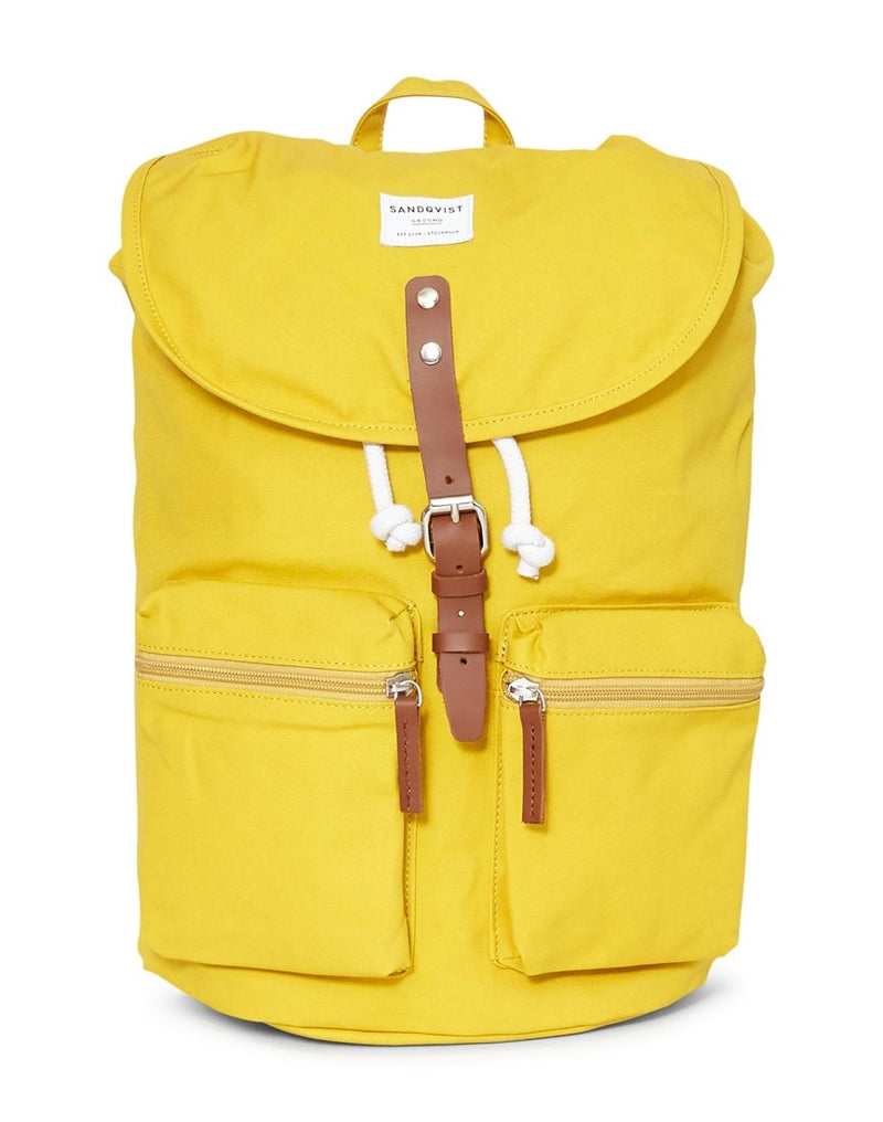 Sandqvist - Backpack Roald Yellow
