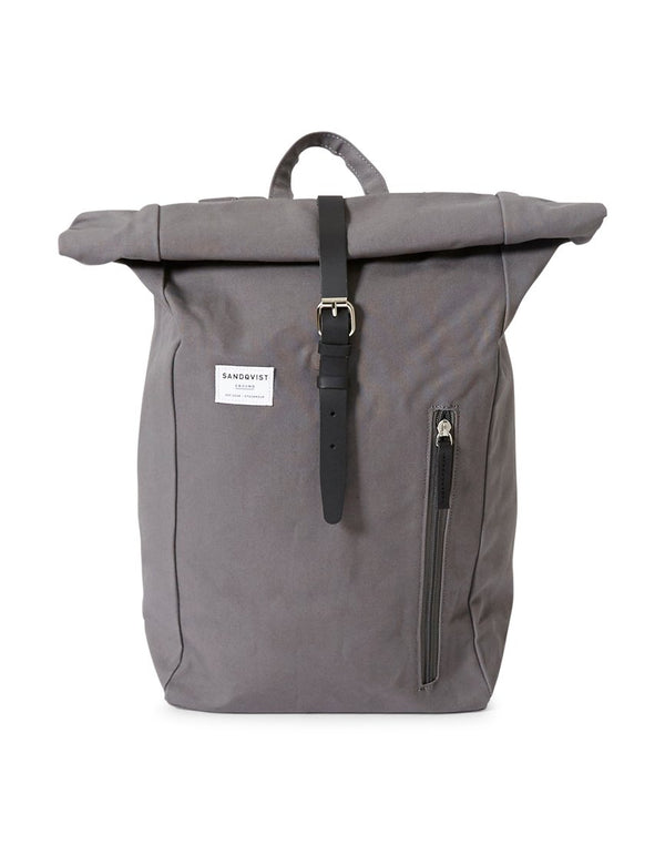 Sandqvist - Dante Roll-Top Backpack Grey