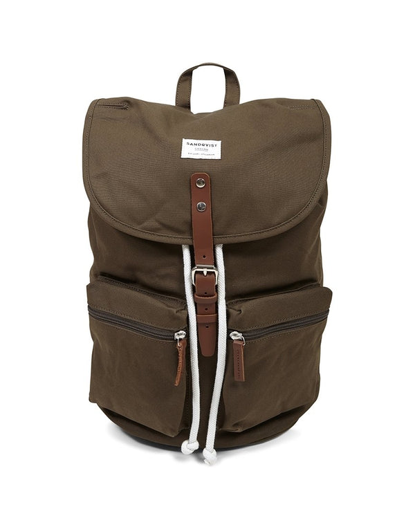 Sandqvist - Roald Backpack Olive