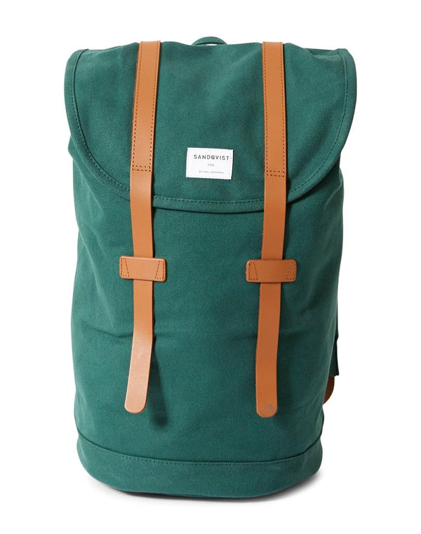 Sandqvist - Stig Backpack Green