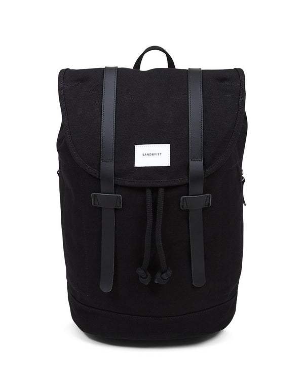 Sandqvist - Stig Large Backpack Black - Black