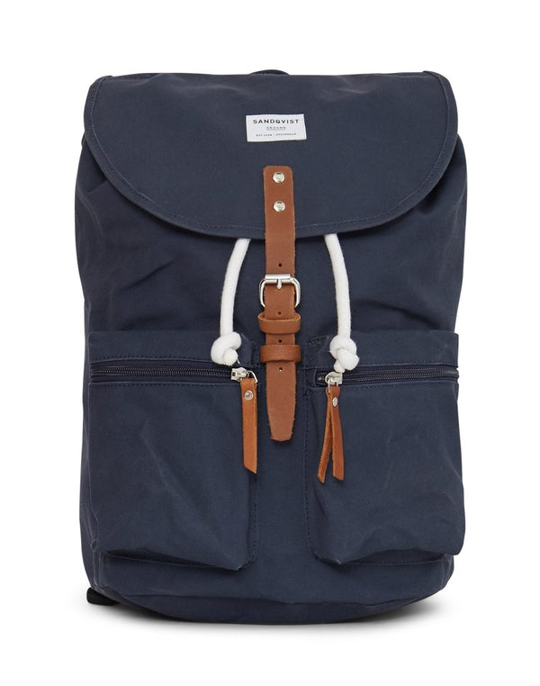Sandqvist - Backpack Roald Blue