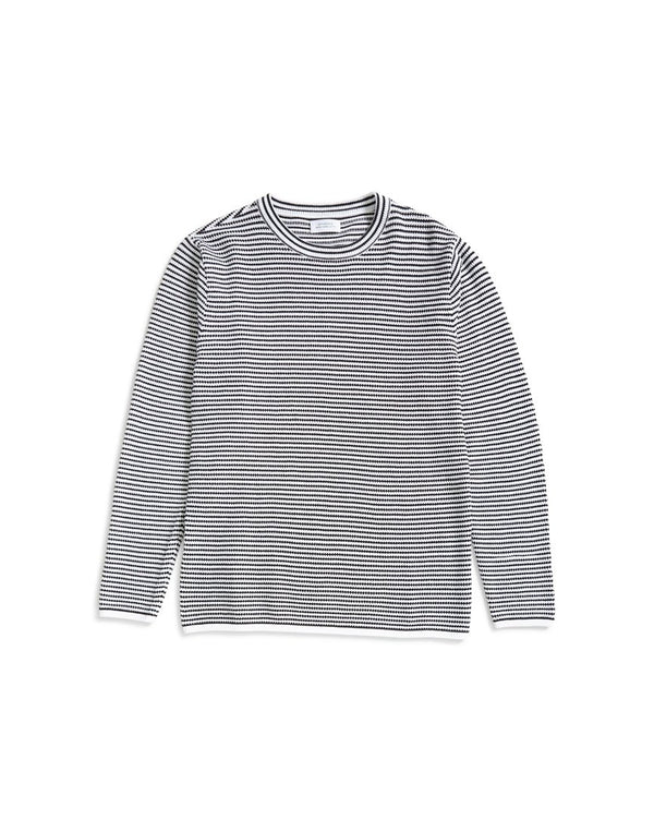Saturdays NYC - Alek Stripe Jumper Black