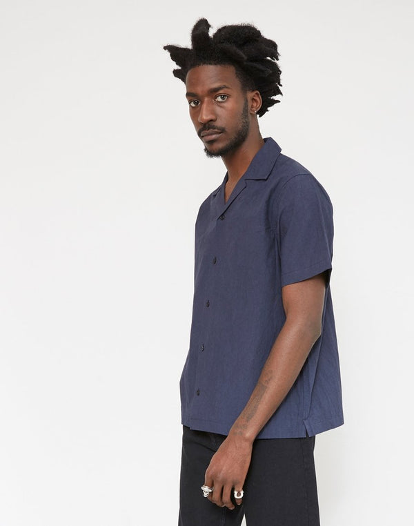 Saturdays NYC - Canty Solid Shirt Navy
