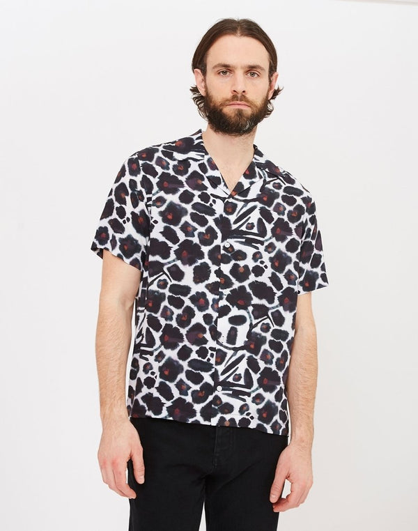 Saturdays NYC - Canty Water Floral Shirt White