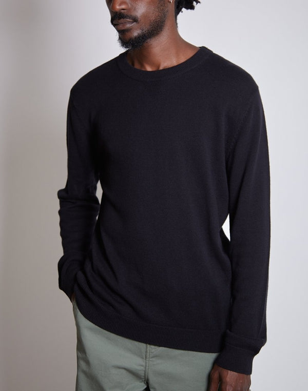 Saturdays NYC - Everyday Classic Sweatshirt Black