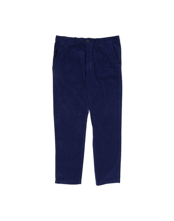 Saturdays NYC - Field Heavy Regular Fit Cord Trousers Blue
