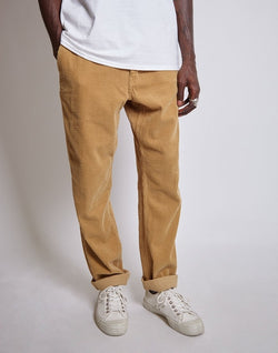 Saturdays NYC - Field Heavy Regular Fit Cord Trousers Tan