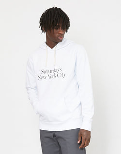 Saturdays NYC - Miller Standard Hoodie White