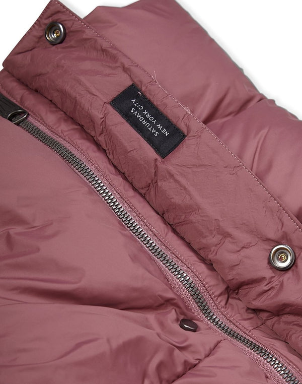 Saturdays NYC - Silas Down Jacket Light Purple