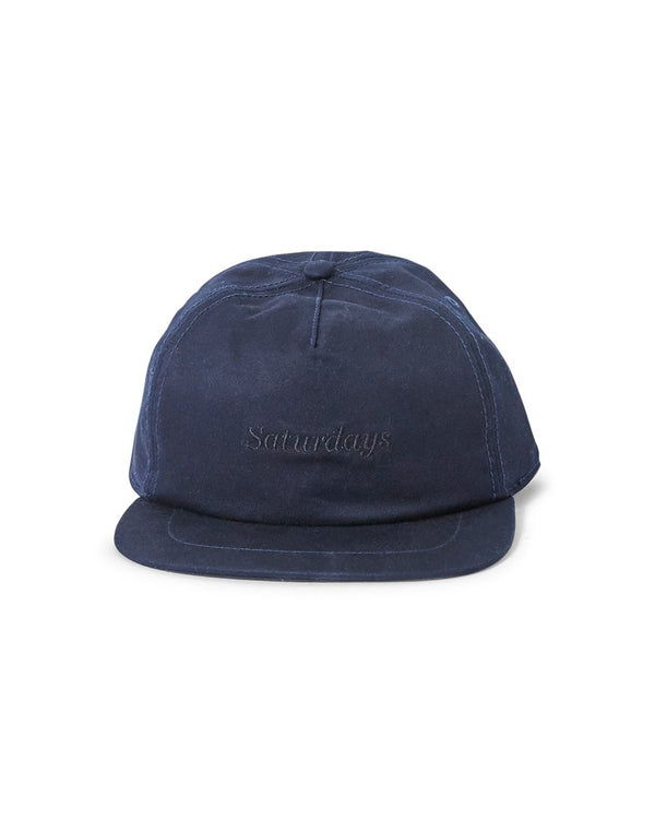 Saturdays NYC - Stanley Italics Cap Navy