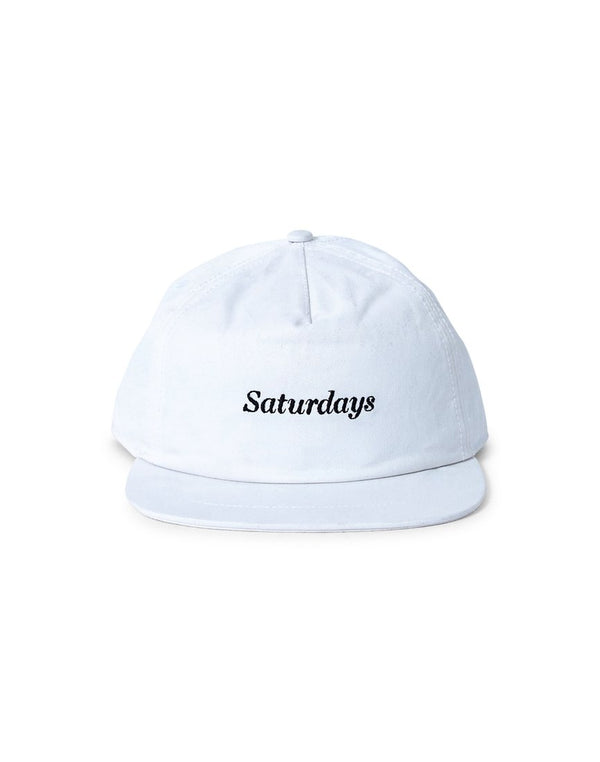 Saturdays NYC - Stanley Italics Cap White