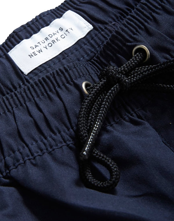 Saturdays NYC - Timothy Swim Shorts Navy