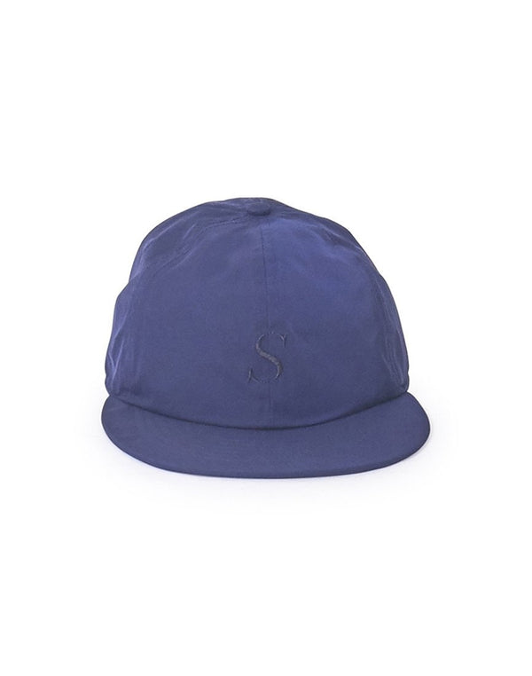 Saturdays NYC - Rich Italic Snap Cap Blue
