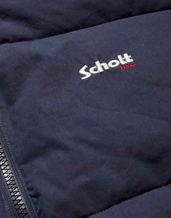 Schott NYC - Alaska Hooded Jacket Navy
