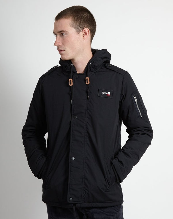 Schott NYC - Hooded Parka Navy