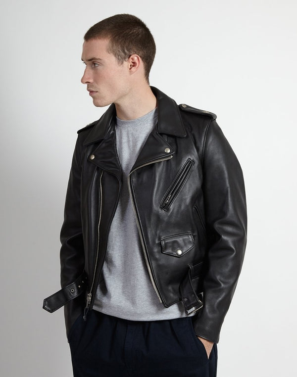 Schott NYC - 613 Made in USA Perfecto Jacket Black