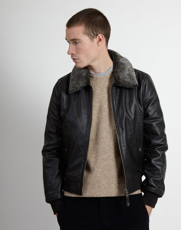 Schott NYC - Pilot Jacket Black