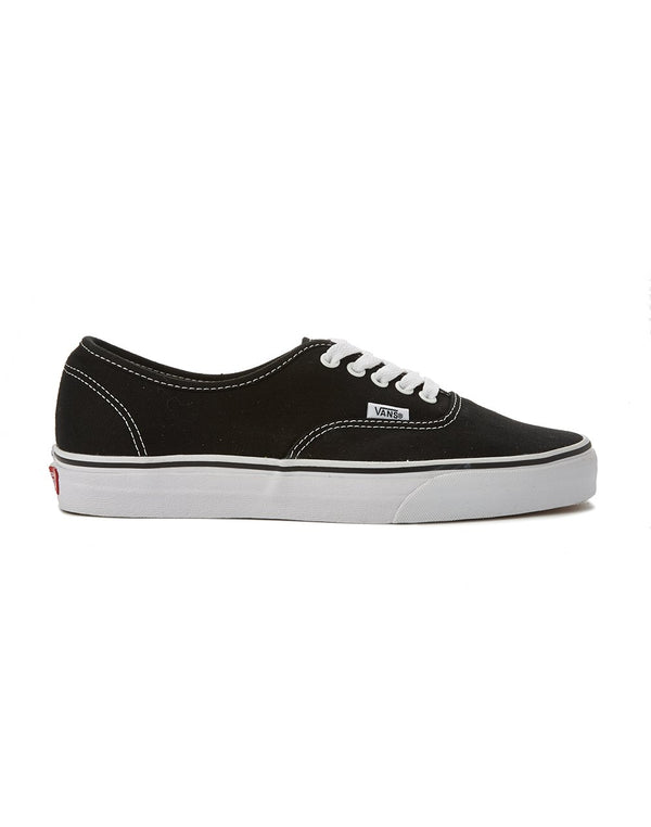 Vans - Authentic Canvas Plimsolls Black