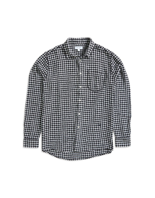 Soulland - Greene Checked Shirt Black & White