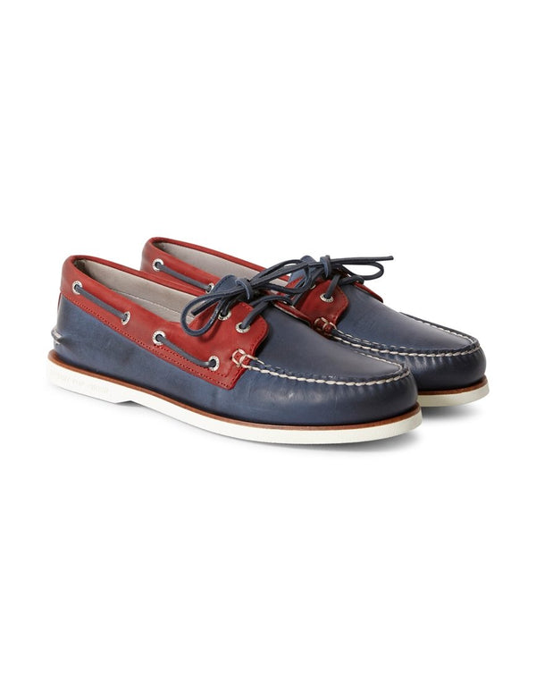 Sperry - Gold Cup 2 Eye Premium Boat Shoe Navy