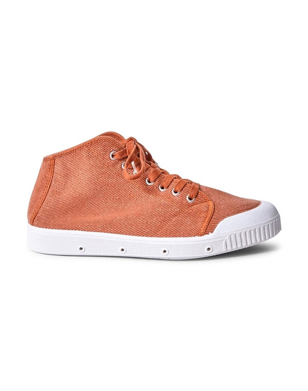 Spring Court - B2 Heavy Twill Plimsoll Brown