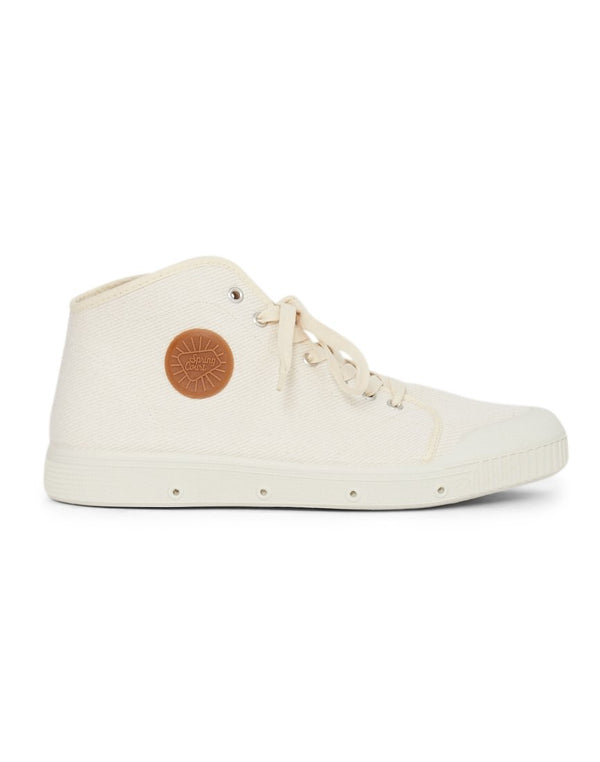 Spring Court - B2 Heavy Twill Plimsolls Off White