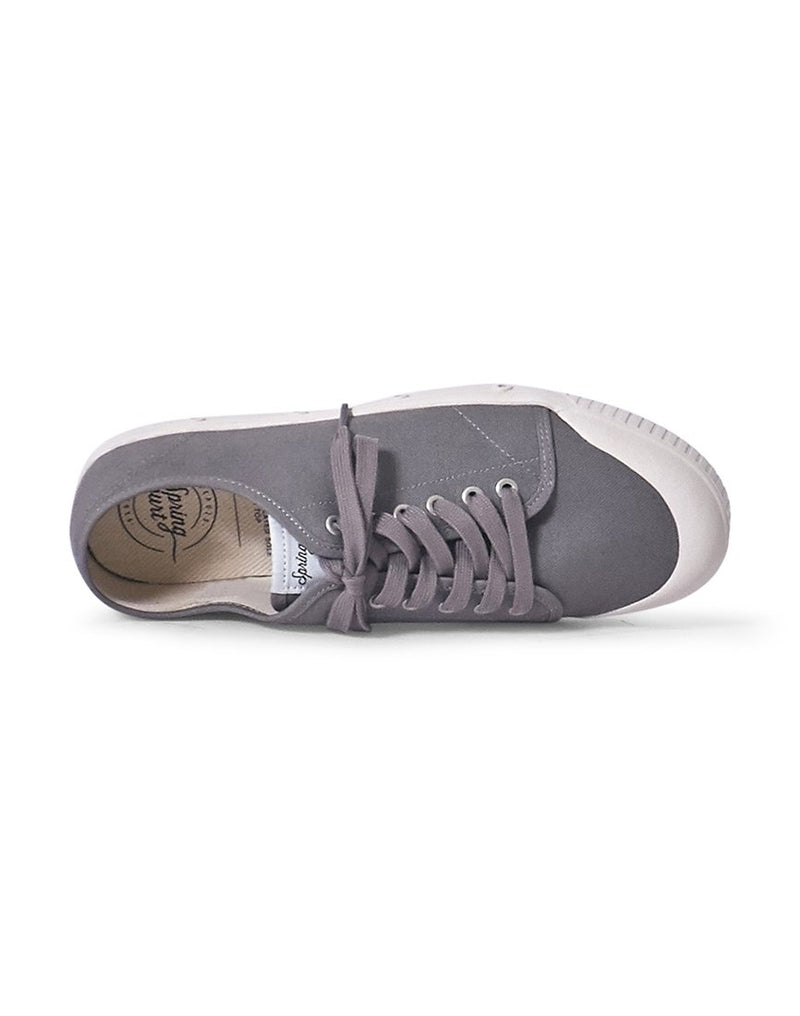 Spring Court - G2 Canvas Plimsoll Grey