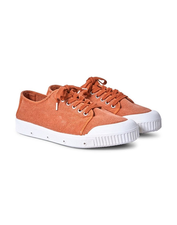 Spring Court - G2 Heavy Twill Plimsoll Brown