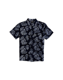 Stan Ray - Kelapa Short Sleeve Shirt Black Print
