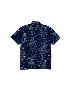 Stan Ray - Kelapa Short Sleeve Shirt Blue Print