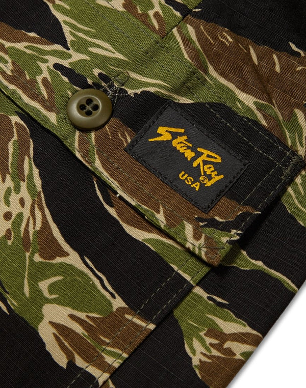 Stan Ray - 1200 Taper Fatigue Pant Green Tigerstripe