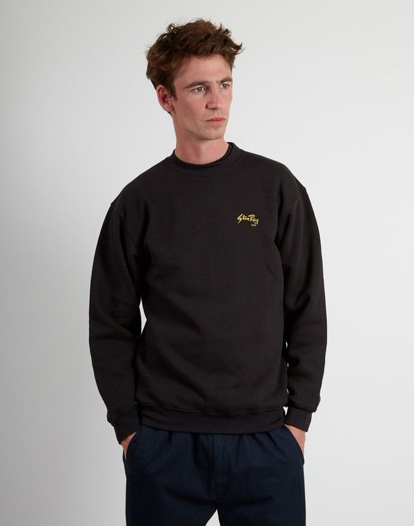 Stan Ray - Crew Neck Jumper Black